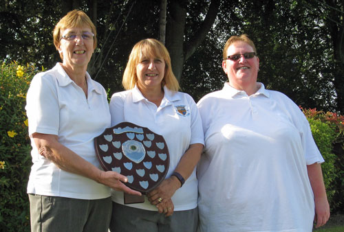 Ladies Triples winners 2016