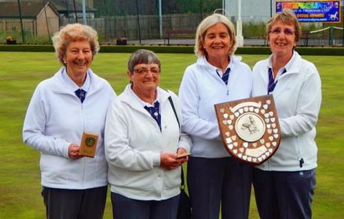 Blairgowrie Bowling Club - Perth & Perthshire Fours winners