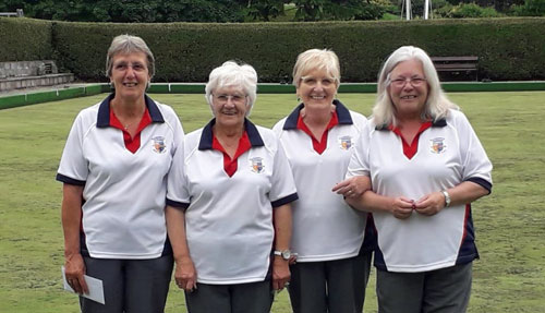 Blairgowrie Bowling Club - Bowls Scotland Ladies Fours Winners