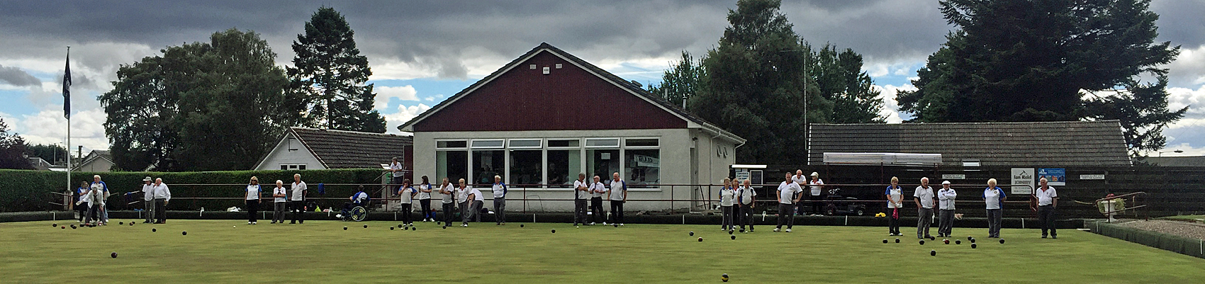 Blairgowrie Bowling Club - on the green