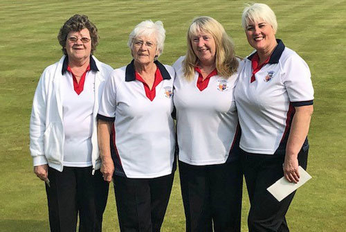 Blairgowrie Bowling Club - Ladies Fours BS District winners