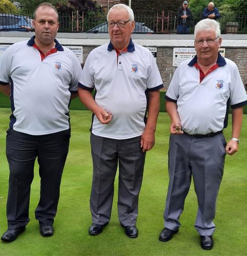 Blairgowrie Bowling Club - 2021 Perthshire Triples-Finalist