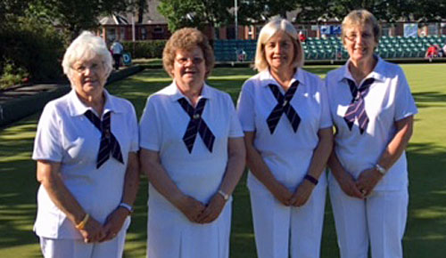Blairgowrie Bowling Club - Senior Ladies Fours at Ayr