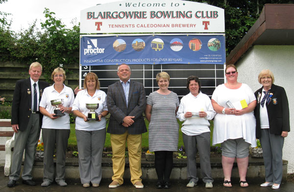 Blairgowrie Bowling Club - Ladies Invitation Pairs winners 2016