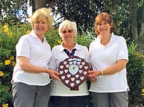 Blairgowrie Bowling Club - Ladies triples winners