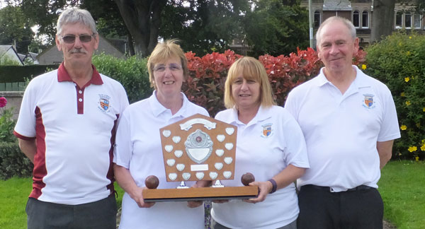 Blairgowrie Bowling Club - Mixed Fours winners